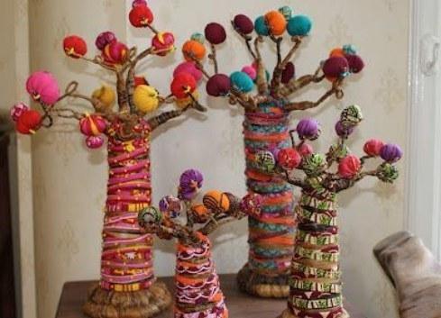 Funkadelic Fabric baobabs